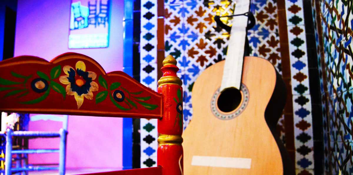 tablaos flamenco Sevilla instrumentos