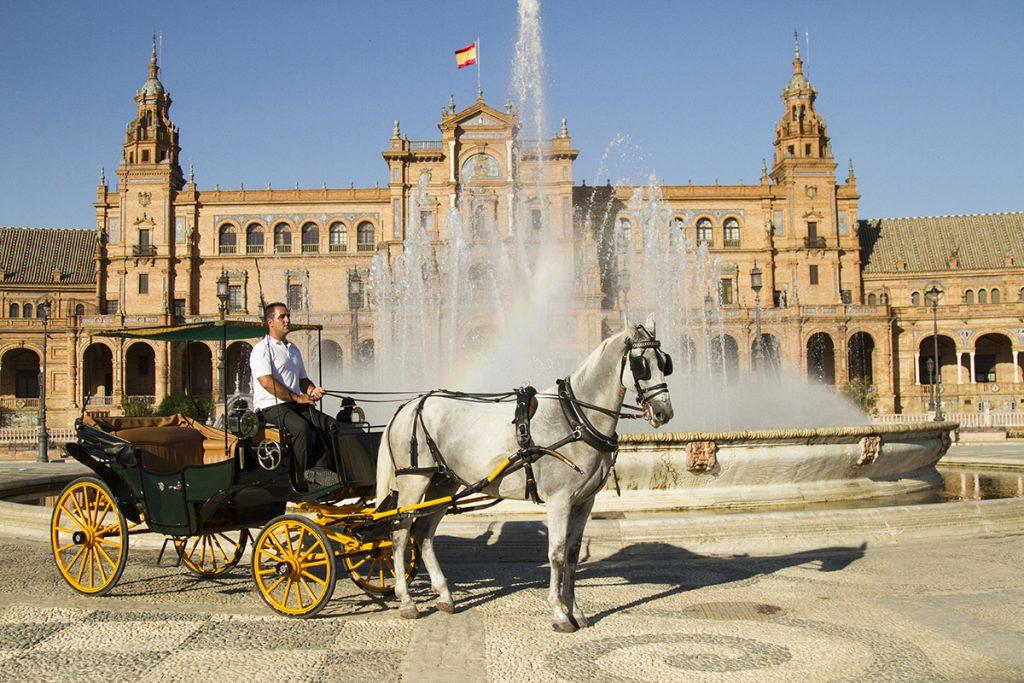 coches de Caballo en Sevilla