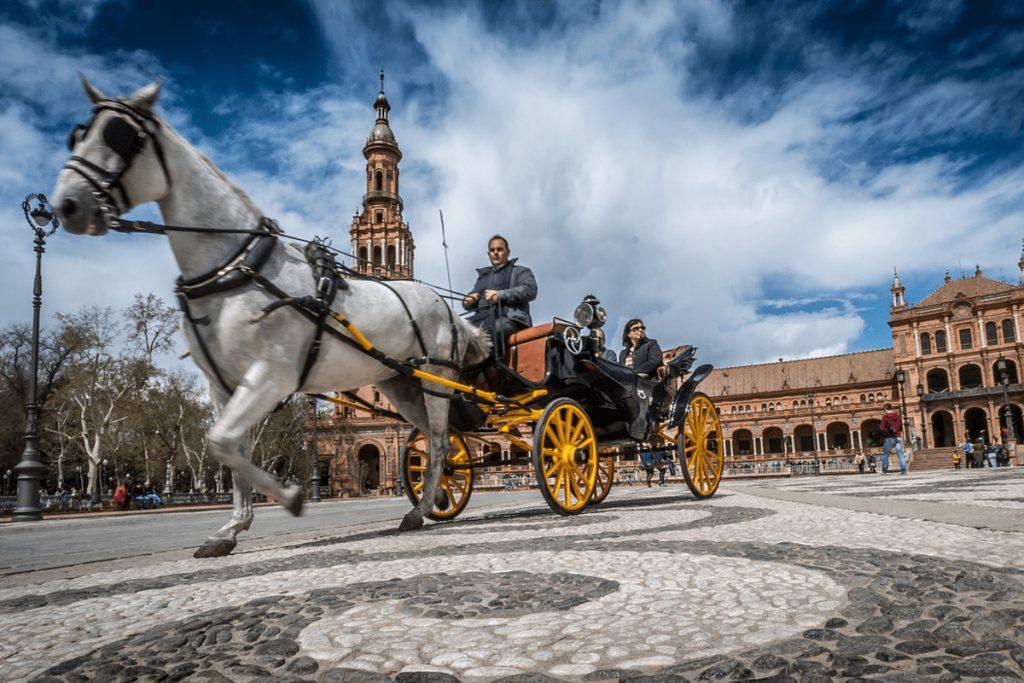coches a Caballo en Sevilla