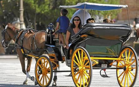 paseos de coches de caballo