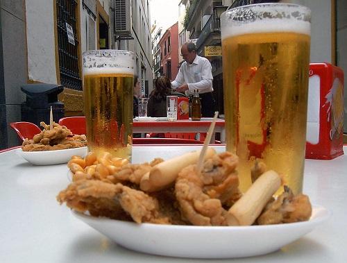 ir de cervezas por Sevilla