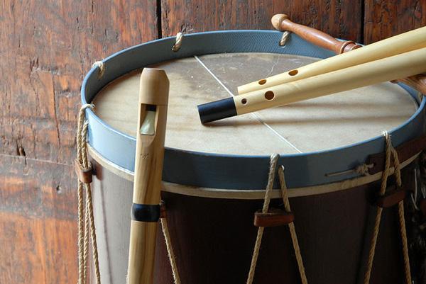 uso de la flauta rociera